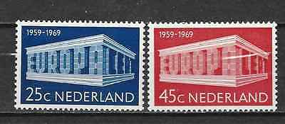 NETHERLANDS - EUROPA CEPT 1969 - Stamps unused MNH**