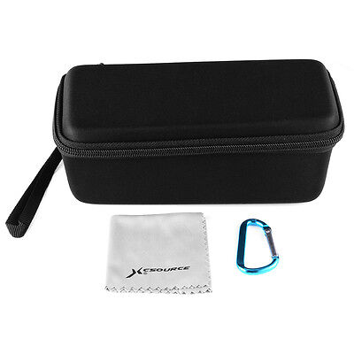 Storage Carry Case Bag w/ Cleaning Cloth for JBL Flip 3 Bluetooth Speaker TH575