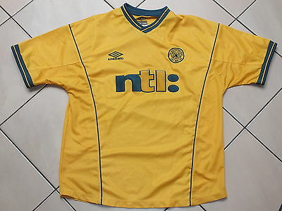 !! Maillot foot ancien old shirt jersey camiseta CELTIC GLASGOW Taille L !!
