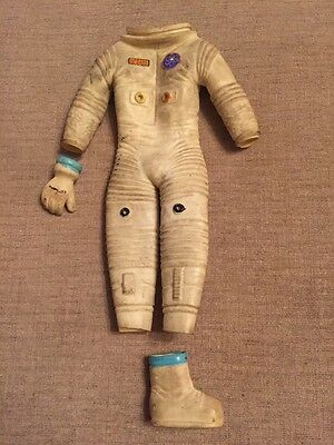 Vintage Gilbert man from uncle /moon mcdare Space Suit, Glove & Boot!