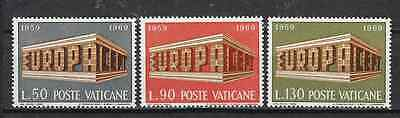 VATICAN CITY - EUROPA CEPT 1969 - Stamps unused MNH**