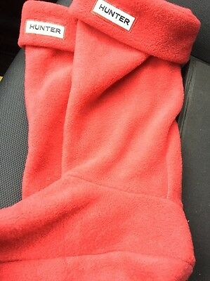 Festive Red Hunter Boot Liners EUC!