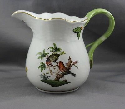 "Herend China Rothschild Bird Large 4"" Creamer 1642 (A)"