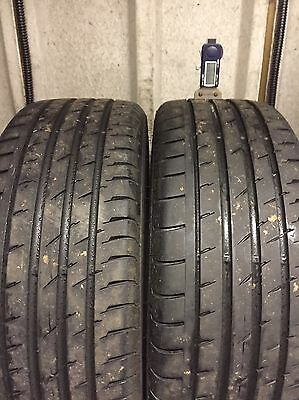 205/45-17 Continental Sport Tyres X 2 With 6.32mm Tread