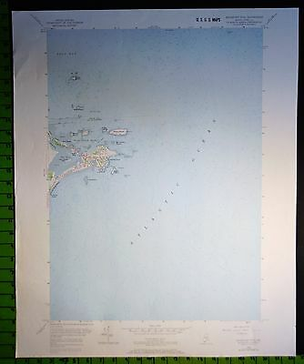 Biddeford Pool Maine 1970 USGS Topographic Map 22x27