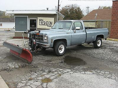 1980 GMC Other  1980 GMC SIERRA CLASSIC 2400 PICKUP 4 X 4  BOSS  SNOWPLOW TOMMY LIFTGATE CHEVY
