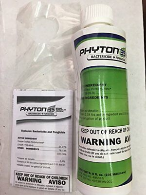 PHYTON 27 Systemic Bactericide % Fungicide Safe 8 OZ
