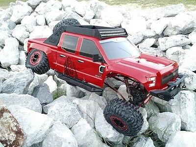 1:5 Clawback Electric RC Monster Truck Rock Crawler 4WD Off Road 2.4GHz Red