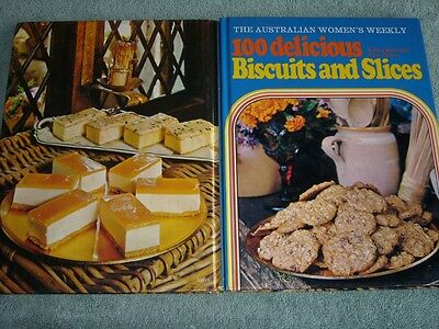 Retro Womens Weekly Cookbook 100 Delicious Biscuits And Slices Recipes