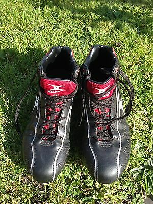 Gilbert Rugby Boots Size 5 Red/black