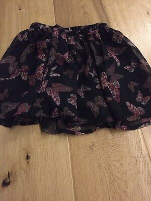 Pretty Butterfly Skirt Age 7-8.