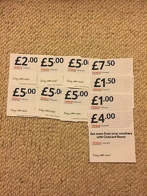 Tesco Clubcard Vouchers £41 (worth Up To £164In Value)