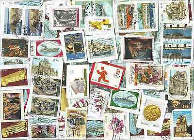 A  Fresh New Selection Of Kiloware Stamps From Malta