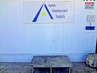 Stainless Steel Table/Stand/Rack #1826