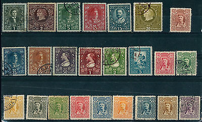Montenegro Old Stamps 1907 - 1910