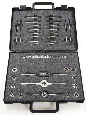 British Tap And Die Set Bsw Bsf Bscycle Ba Bsp Cei Whitworth All In One Set