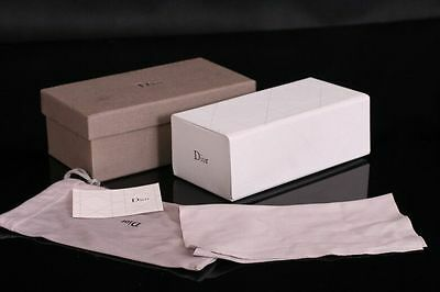 Brand New Dior sunglasses case+cleaning cloth+pouch+gift box