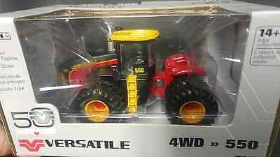 1/64 Versatile 550 50th anniversary 4wd tractor w/ duals, Retro paint, AWESOME