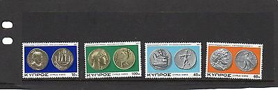 Cyprus 1977 Ancient Coins of Cyprus  MNH