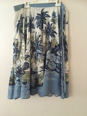Beautiful Charlie Brown Floral Print Skirt. Size 12