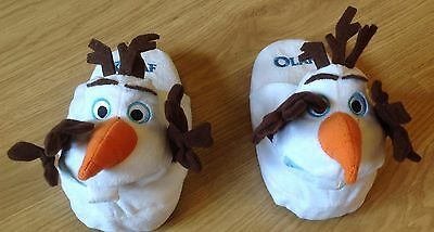 Childrens Stompeez Olaf Frozen Slippers size 7-9 (XS)