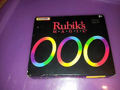 Rubik's Magic Rings Toy  Puzzle Game Vintage 1986