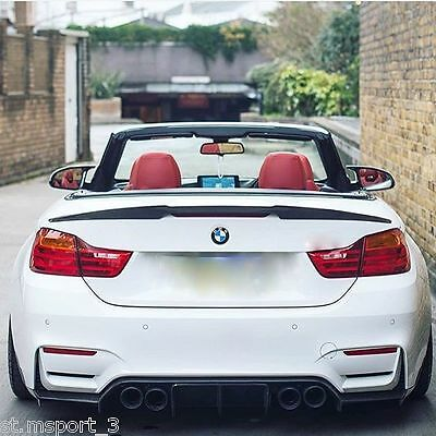 Carbon Bmw E93 Convertible V Style Spoiler 3 Series Boot M3 Rear Performance Lip