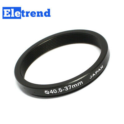 40.5mm to 37mm 40.5-37mm Male-Famale Step-down Lens Filter Hood Cover Ring