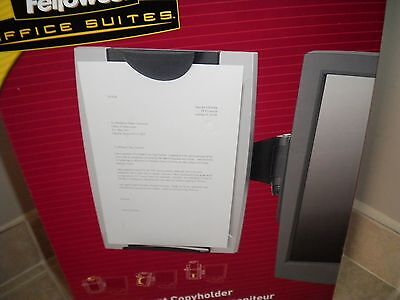Fellowes Office Suites Monitor Mount Copyholder Paper Support Holder CRC80333