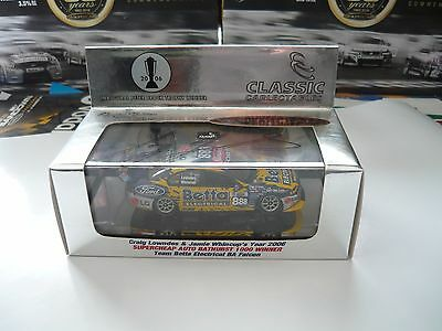 1/43 Classic Carlectables 2006 Bathurst Winner Lowndes Whincup Ba Ford Falcon