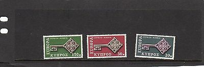 Cyprus 1968 Europa MLH