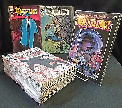 The Question #1-36 COMPLETE FULL SERIES SET Plus Annuals!!! 1986 Denny O'Neil