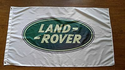 Land Rover Flag Banner 3X5Ft Polyester Range Rover Sport Evoque Discovery