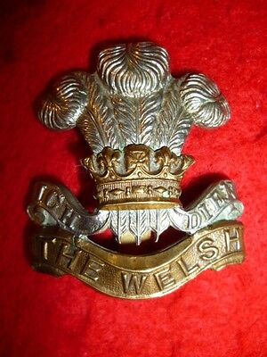 The Welsh Regiment Cap Badge, WW1