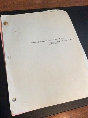 """Remington Steele TV Script For """"Steele Alive And Kicking"""""""