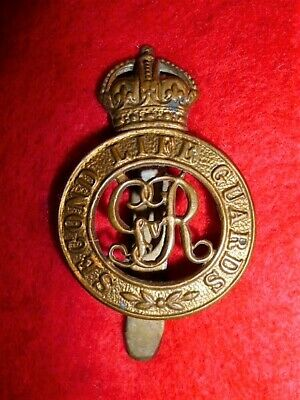 The 2nd Life Guards WW1 George V Voided Cap Badge
