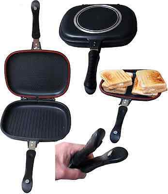 X-Large GRILLA Sandwich Toaster Tostie Maker Carp Fishing Tackle Camping Cooking