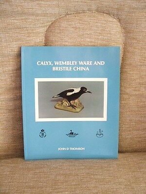 Calyx Wembley Ware & Bristile China by John Thomson FREE POST WITHIN AUST
