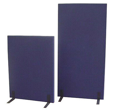 Office Free Standing Partition- Navy
