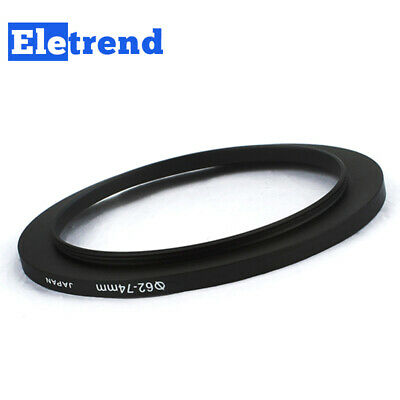 62mm to 74mm 62-74mm Male-Famale Step-Up Lens Filter Hood Cover Ring Adapter