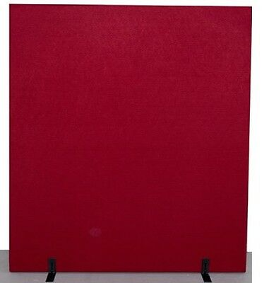 Office 1800W x 1500H Free Standing Partition - Cherry
