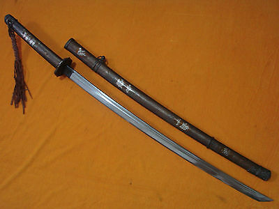 Collectable antiques WWII Japanese Samurai Military Katana/Sword Signed