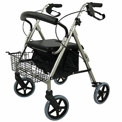 Rollator-Walker-Walking-Frame-Foldable-Mobility-Aids-Indoor-Outdoor-Aid-Seat