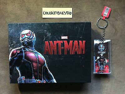 Marvel Ant-Man Exclusive Blufans Box from 1click hot toys keychain for steelbook