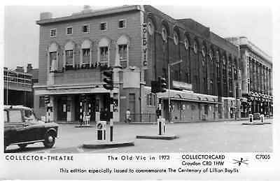 Reproduction Vintage Postcard: The Old Vic in 1973. Pamlin