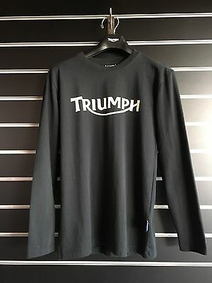 New Triumph King Of Bikes T Shirt Long Sleeve