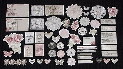 Kaisercraft 'P.S I LOVE YOU' Collectables Die Cut Shapes Marriage/Love KAISER