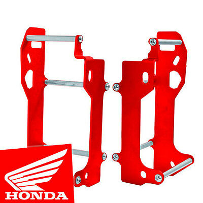 Honda CRF450 R CRF450R 2009 2010 Radiator Braces Guards Red CP06000490007