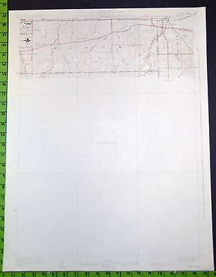 Dyer Indiana Chicago Heights 1930 Topographic Map 20x25 Inches
