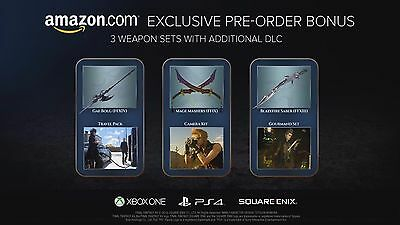Final Fantasy XV Road Trip 3 Weapon Sets DLC for PS4